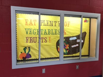 School Poster of Vegetables & Fruits